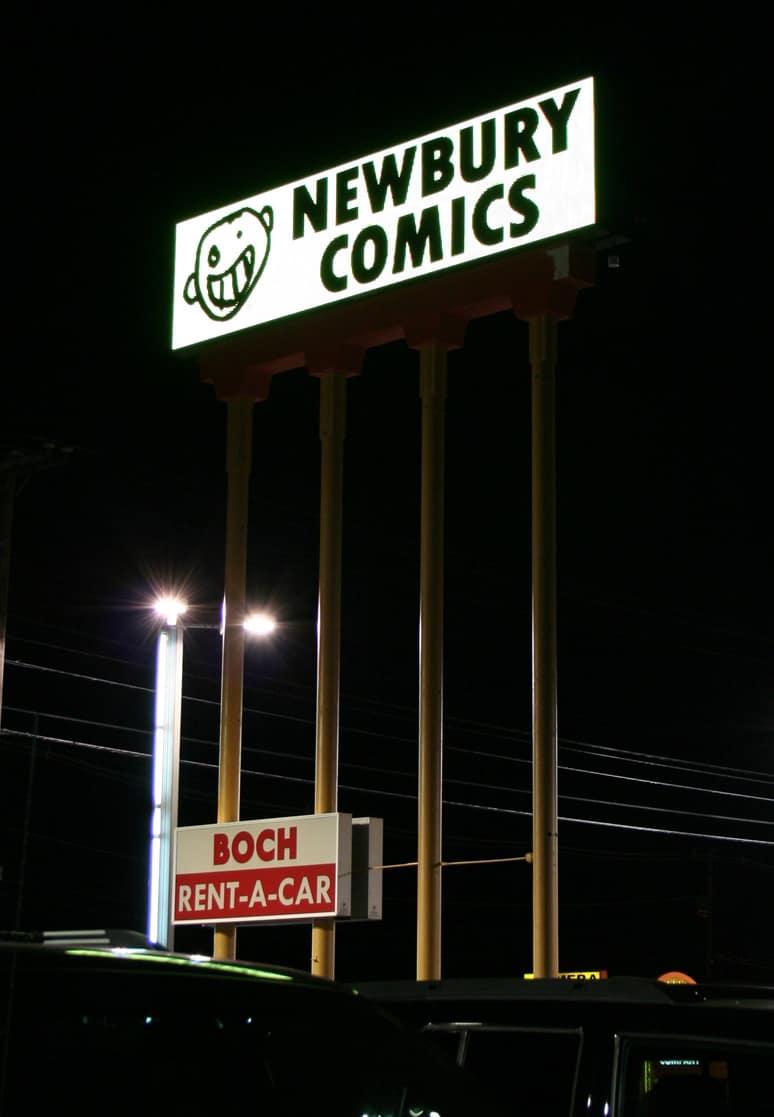 Newbury Comics 7