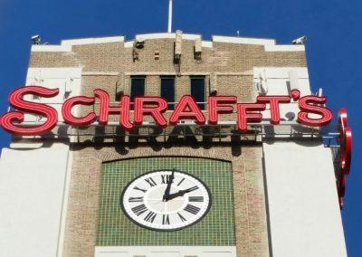 Schrafft's Building Sign