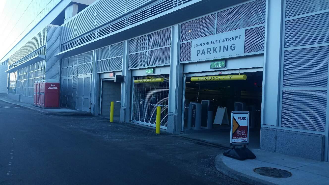 Parking Garage Sign