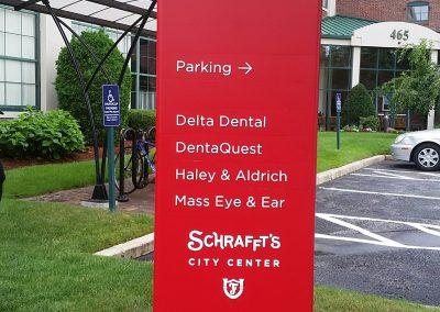 Schrafft's Wayfinding