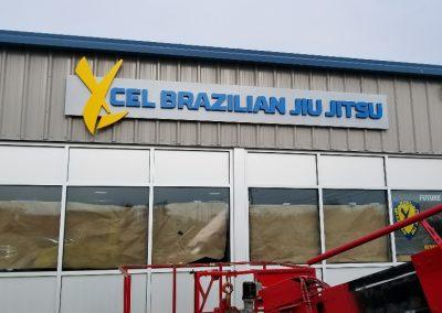 Xcel Building Sign
