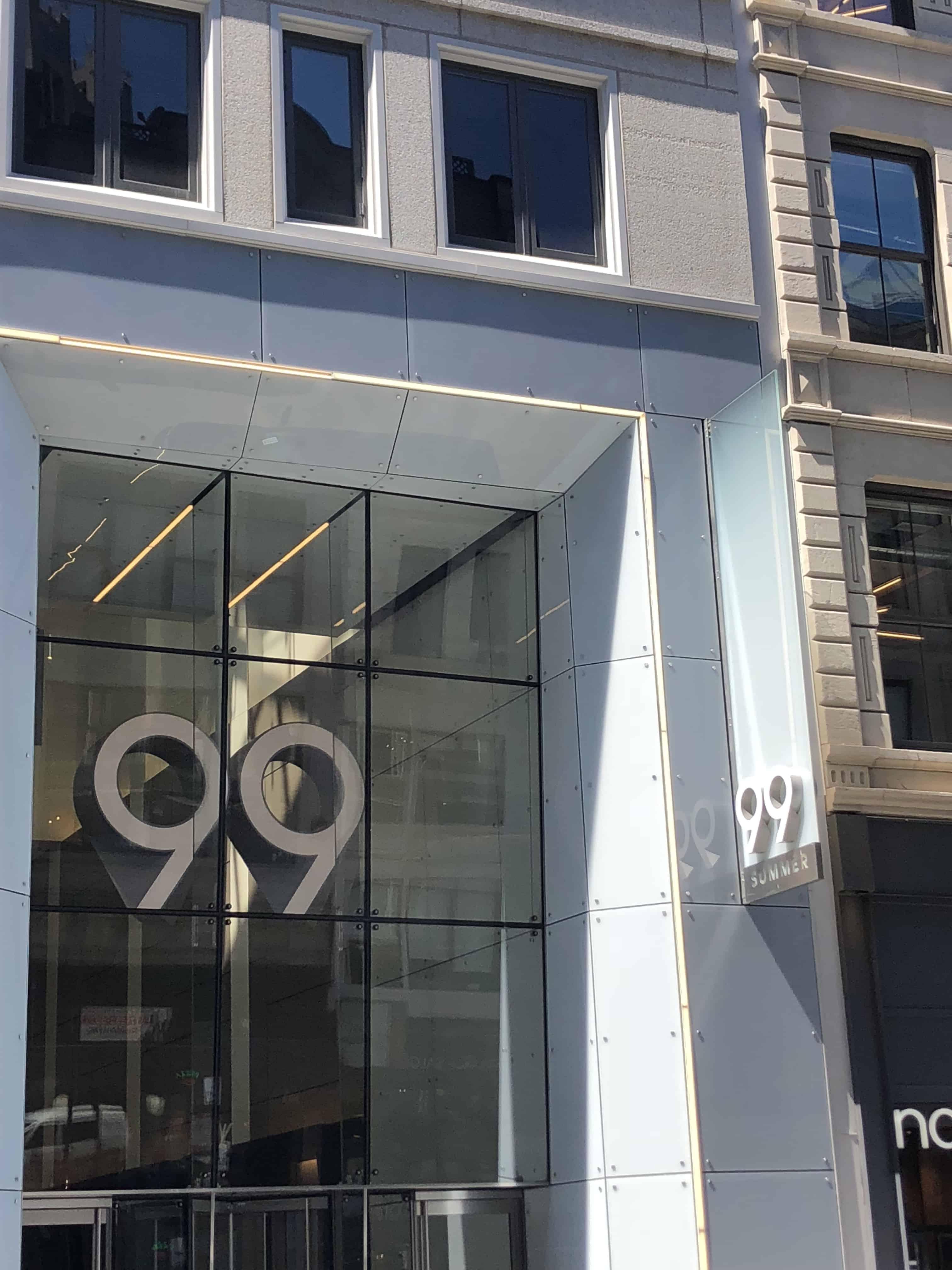 99 Summer Entrance