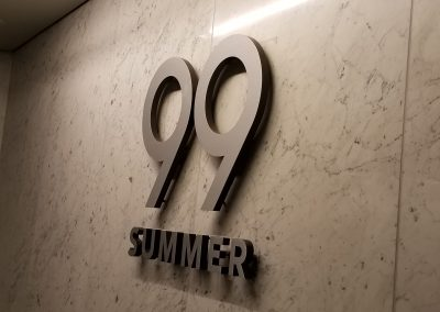 99 Summer Wall Sign 2