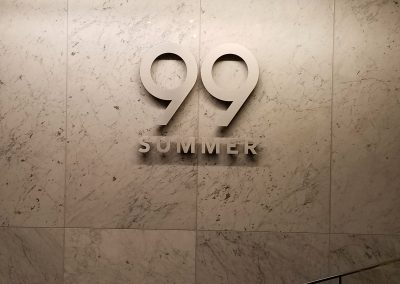 99 Summer Wall Sign