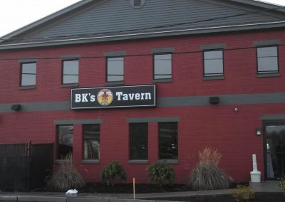 BK's Tavern Building Sign 2