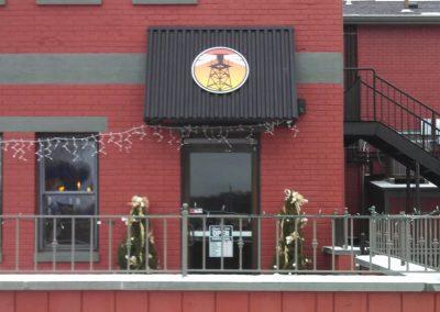 BK's Tavern Small Awning