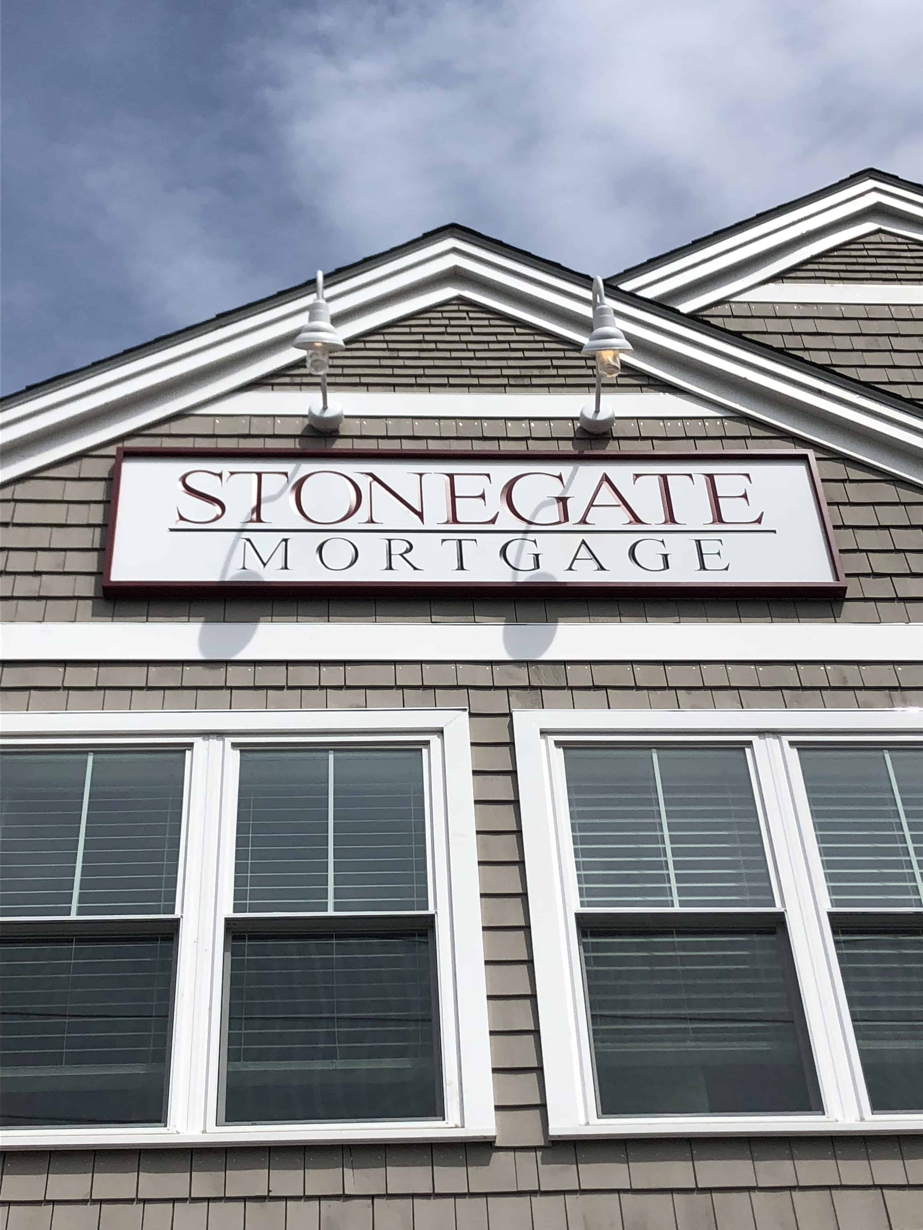Stonegate Building Sign