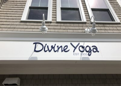 Divine Yoga Building Sign