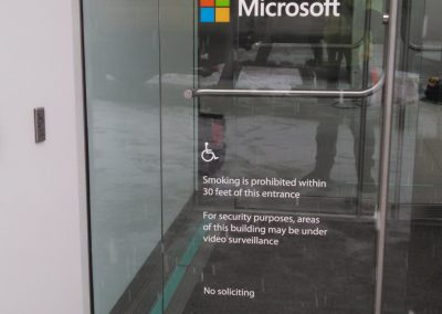 Microsoft Door Graphics