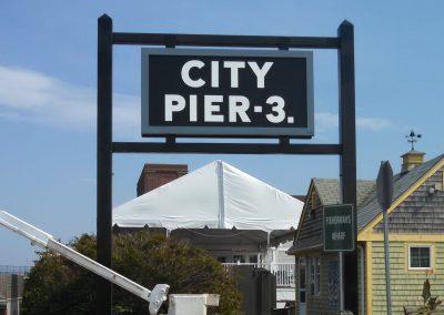 Pier 3 Sign