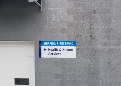First Highland Shipping & Receiving Sign