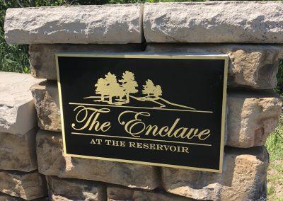 Enclave Plaque