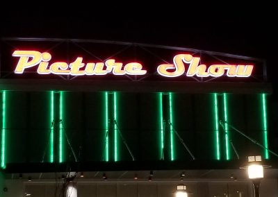 Picture Show Lit Sign