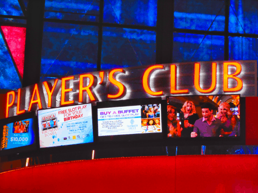 Player's Club Sign