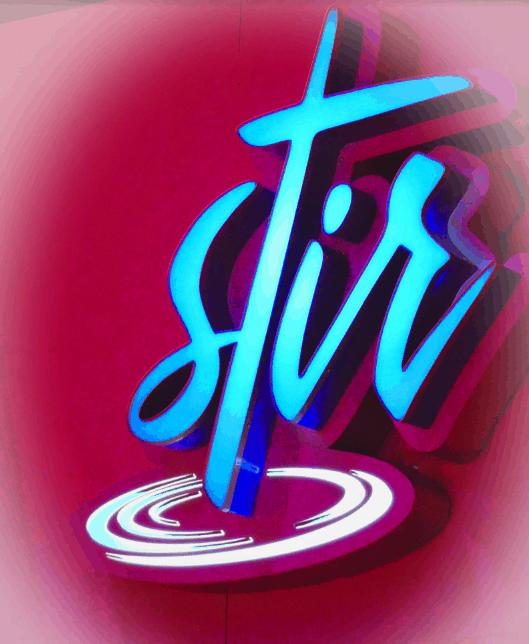 Stir Sign