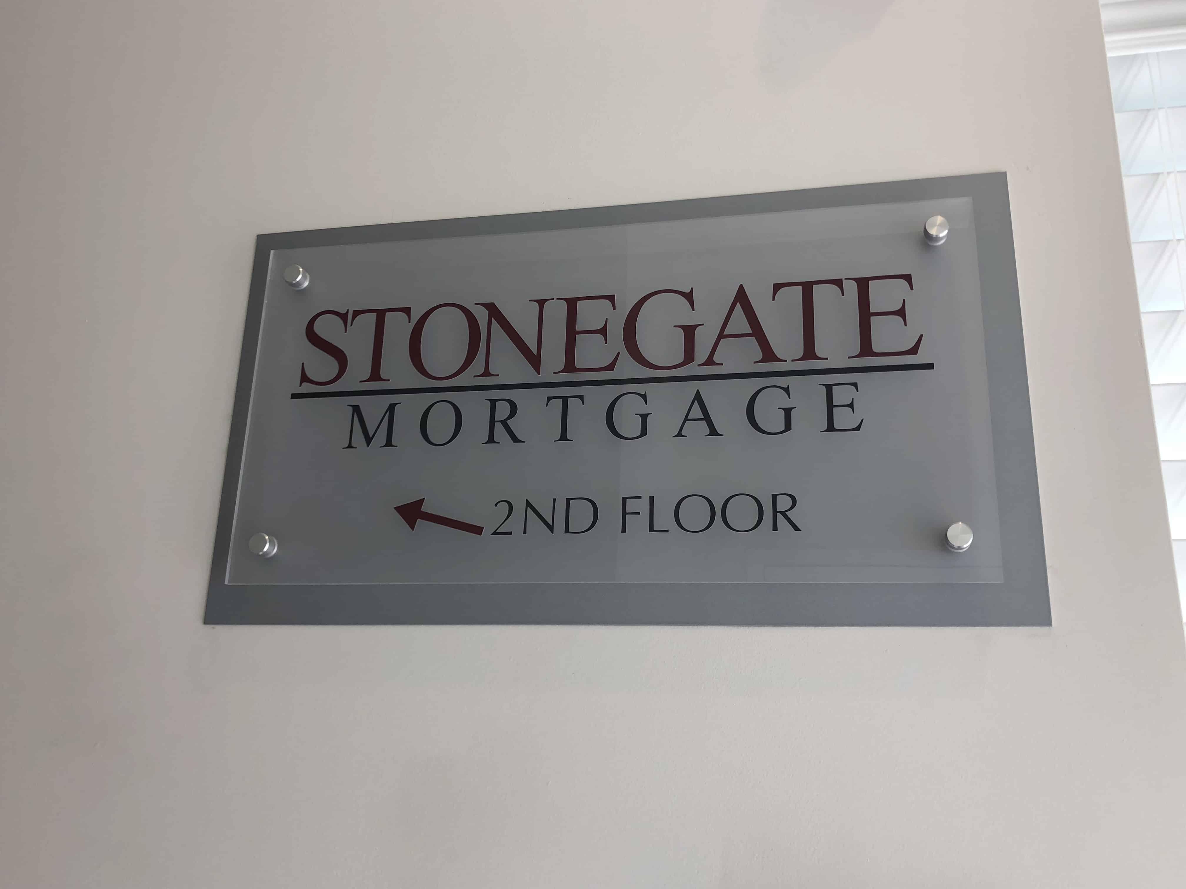 Stonegate Plaque