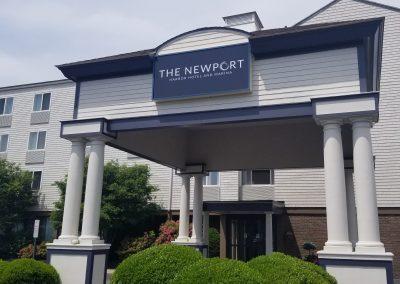 Newport Harbor Hotel Building Sign