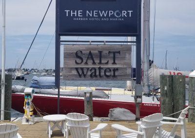 Newport Harbor Hotel Pylon