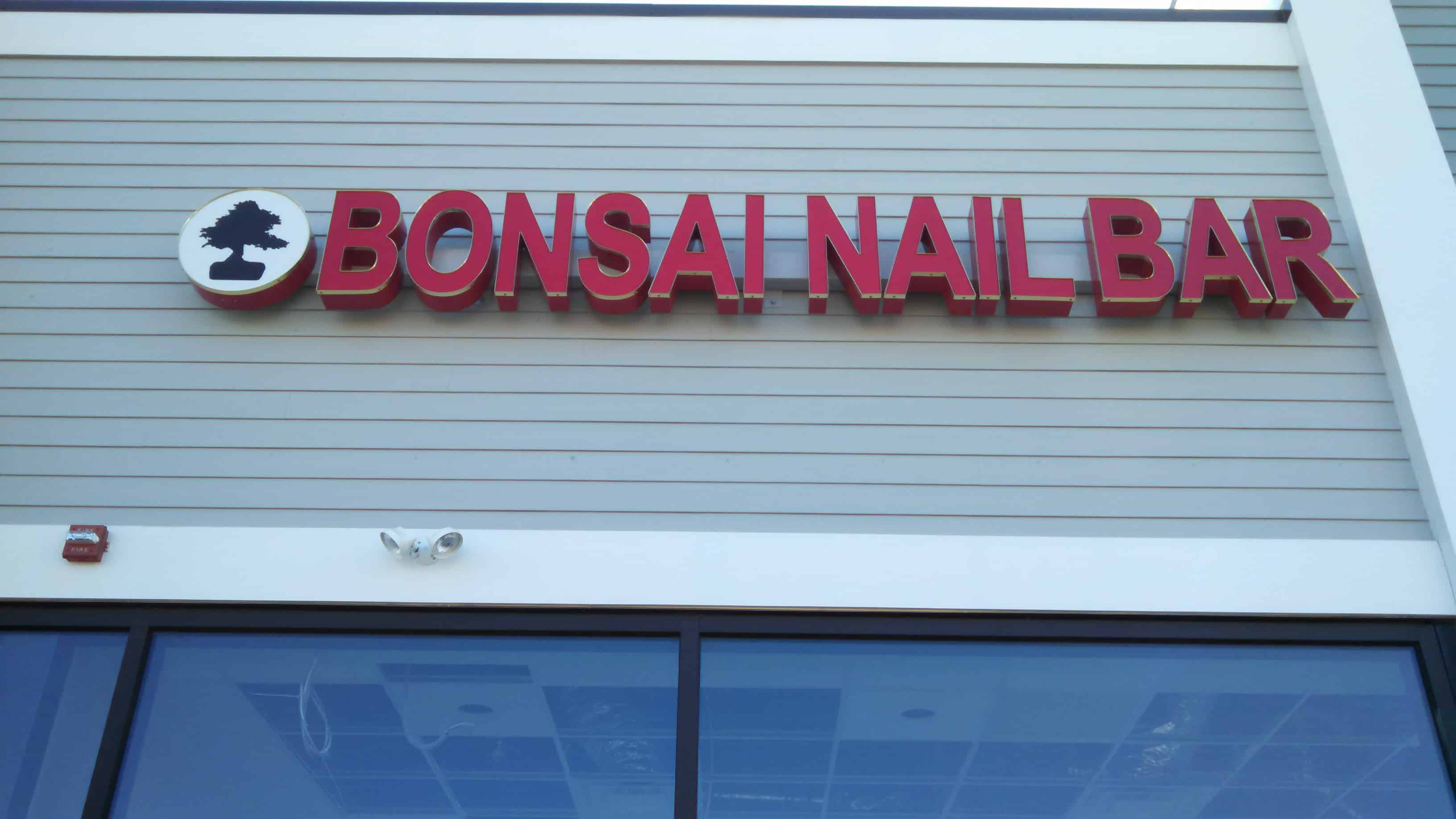 Bonsai Building Sign