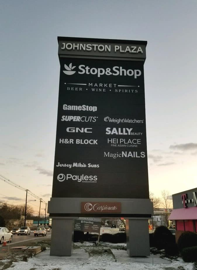 Johnston Plaza Pylon
