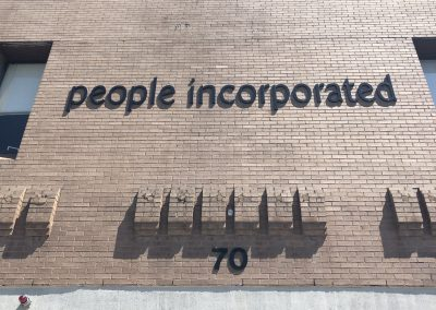 People Inc Building Sign