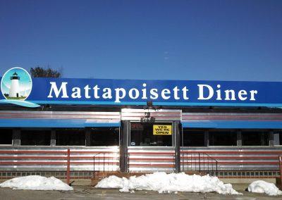 Mattapoisett Diner Roof Sign