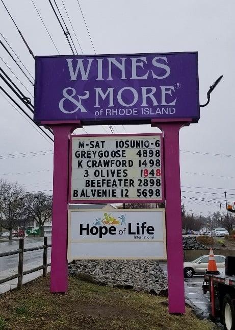 Wines & More, Cranston