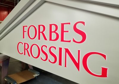 Forbes Crossing Signage