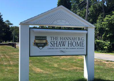 Hannah Shaw Monument