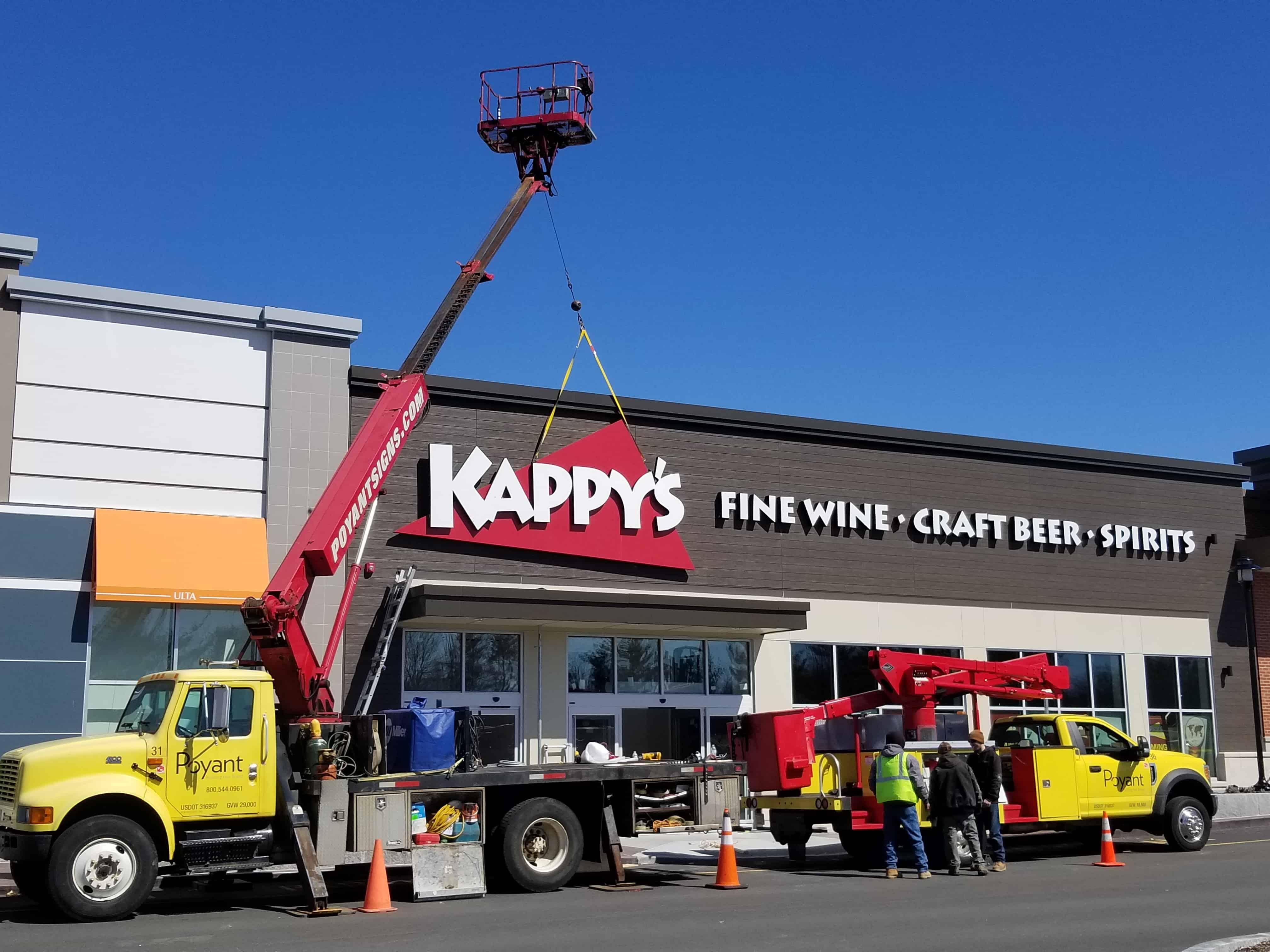Kappy's Signage