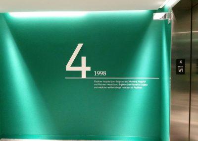 Partners Elevator Signage