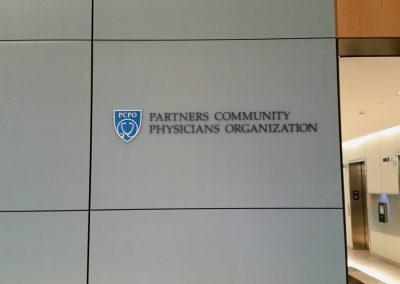 Partners Signage