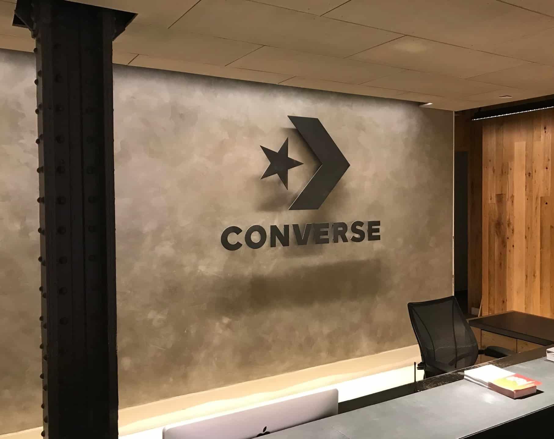 Converse Wall Sign 2