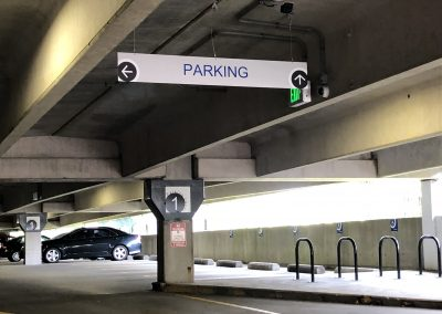 Elm Street Parking Sign