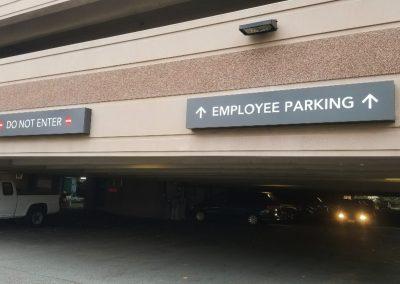 SCH Parking Signs