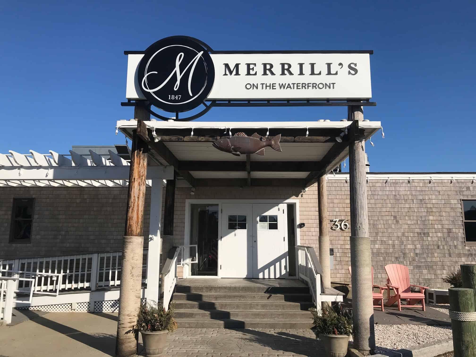 Merills Roof Sign 1