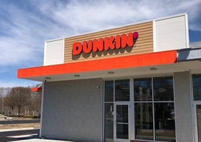 Dunkin Channel Letters